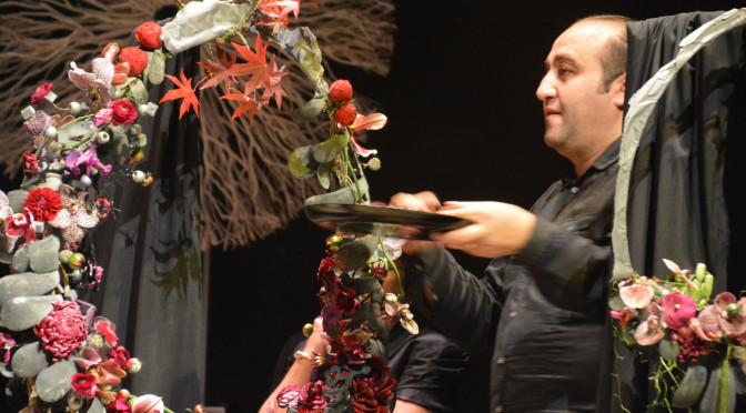 Show of Araik Galstyan in Paris 18, October, 2014