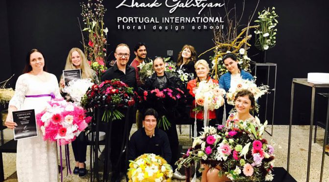 Seminar Nicolas Sahuguede in ARAIK GALSTYAN PORTUGAL INTERNATIONAL FLORAL DESIGN SCHOOL